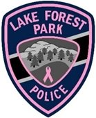 Lake Forest Park Police Department Pink Patch