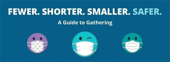 A guide to gathering: fewer, shorter, smaller, safer.