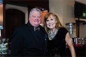 Photo of Mayor Johnson and Rotary President Robin Roat