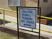 Building, Planning, Zoning Sign