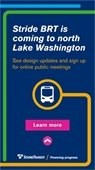 Stride BRT is coming to north Lake Washington