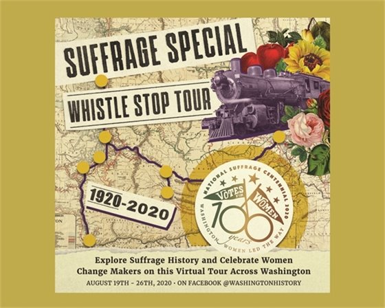 Suffrage Special Whistle-Stop Tour 1920-2020
