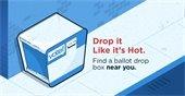 Ballot Drop Box