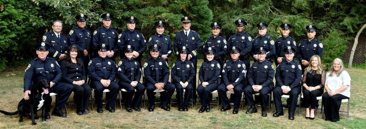 Lake Forest Park Police Department Group Photo
