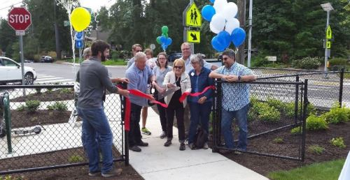 Eagle Scout Park Re-Opening Ribbon Cutting Ceremony