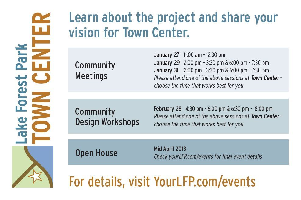 Town Center Vision Mailer