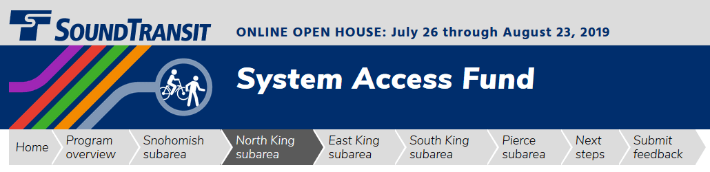 Sound Transit System Access Fund
