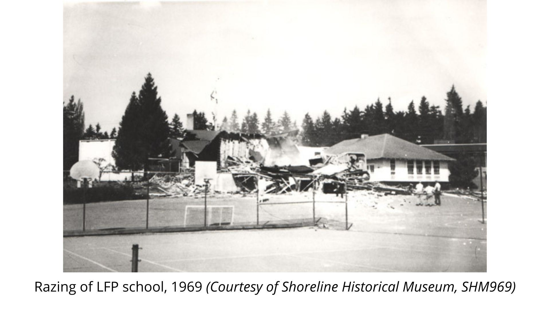 Razing LFP School 1969 SHM969