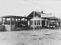 Railroad and Grocery Store