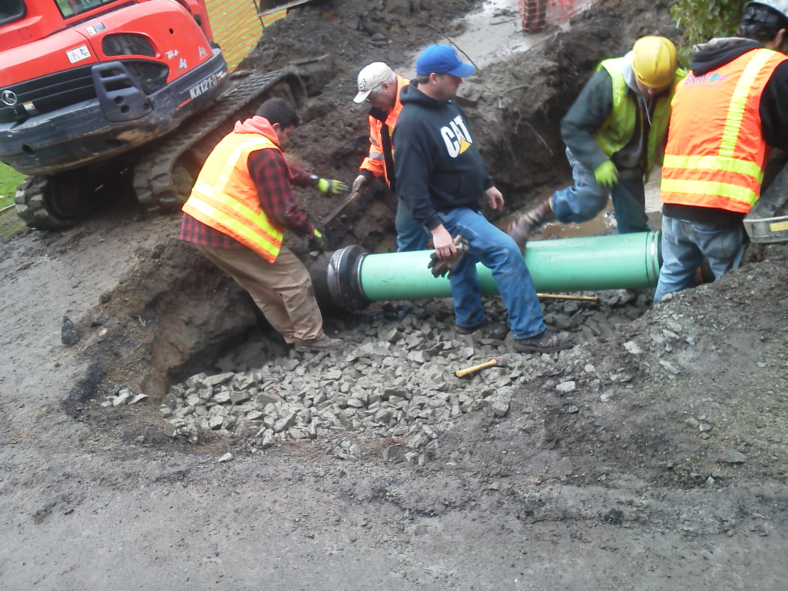 Drainage Pipe Repair